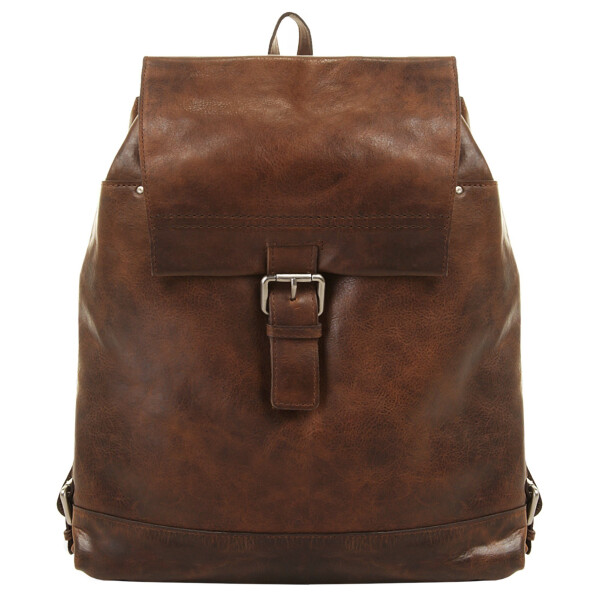 Купить Рюкзаки, Кожаный рюкзак Harold's коричневый один размер