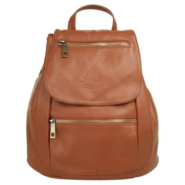 Купить Рюкзаки, Городской рюкзак Samantha Look коньячный один размер