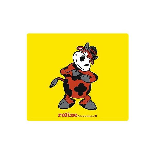Купить Коврики для мышки, Коврик для мышки Roline коврик Rolina Super 255x220x6mm разноцветный [комплект 5 шт] (18.01.2000x5)