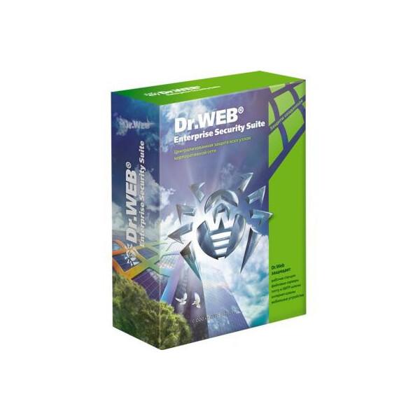 Антивирус Dr. Web Desktop Security Suite + Компл защ/ ЦУ 28 ПК 2 года эл. лиц (LBW-BC-24M-28-A3)