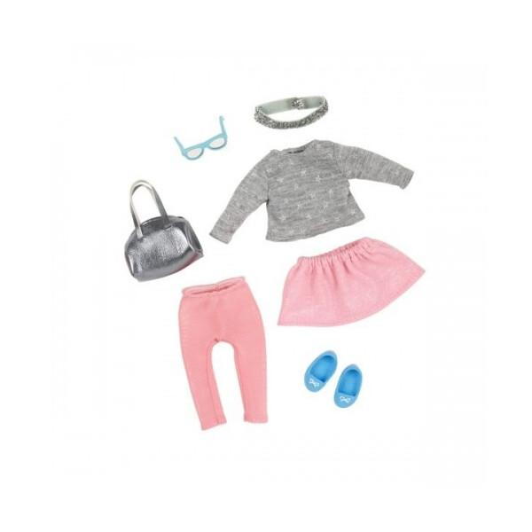Купить Куклы, наборы для кукол, Набор одежды для кукол LORI Модное безумство (LO30012Z)