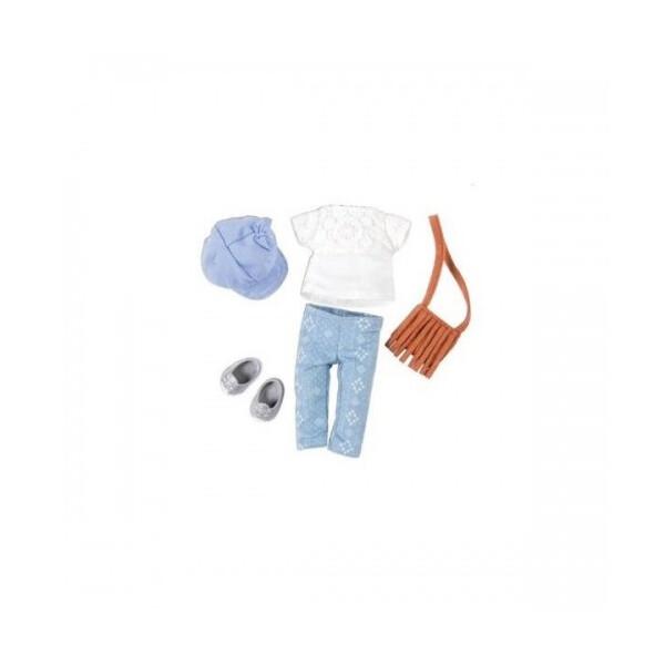 Купить Куклы, наборы для кукол, Набор одежды для кукол LORI с сумкой (LO30022Z)