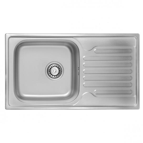 Купить Кухонные мойки, Кухонная мойка Ula 7204 Zs Satin