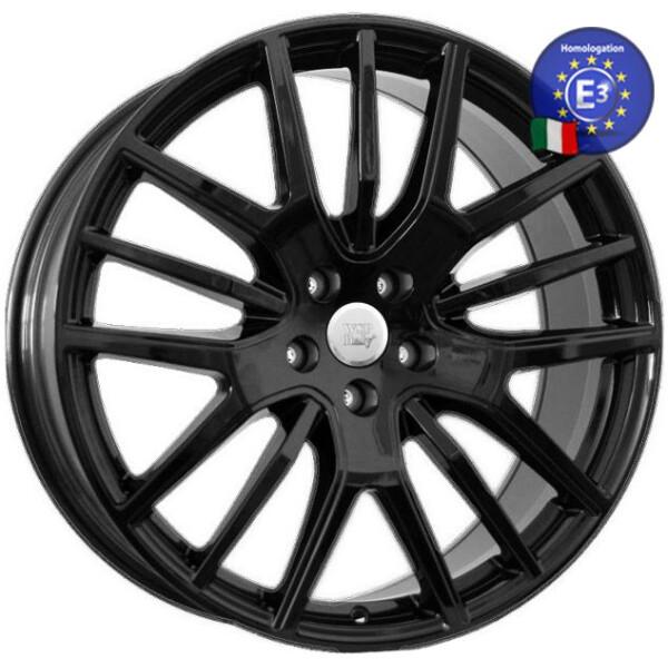 Автомобильные диски, Литой диск WSP Italy MASERATI W3101 FLORENCE R21 W9 PCD5X114, 3 ET40, 5 DIA67, 1 GLOSSY BLACK  - купить со скидкой