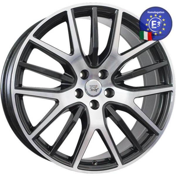 Купить Автомобильные диски, Литой диск WSP Italy MASERATI W3101 FLORENCE R21 W9 PCD5X114, 3 ET40, 5 DIA67, 1 ANTHRACITE POLISHED