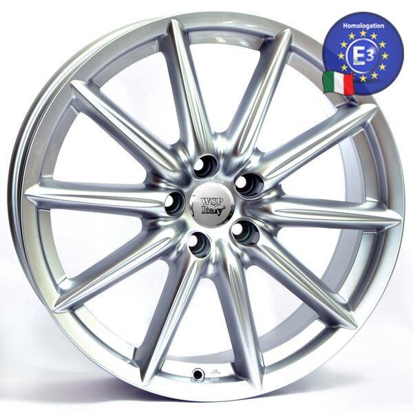 Купить Автомобильные диски, Литой диск WSP Italy ALFA ROMEO W251 CANNES R18 W8 PCD5X98 ET35 DIA58, 1 SILVER