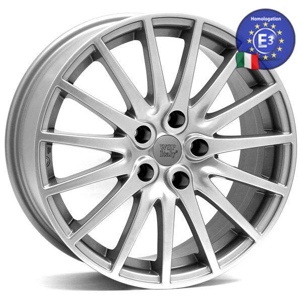 Купить Автомобильные диски, Литой диск WSP Italy ALFA ROMEO W237 MISANO 159 R17 W7, 5 PCD5X110 ET41 DIA65, 1 SILVER