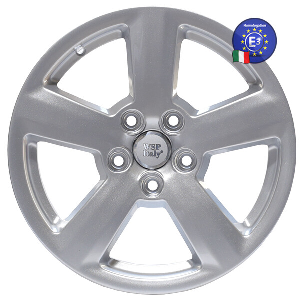 Купить Автомобильные диски, Литой диск WSP Italy ALFA ROMEO W257 ROMEO R18 W7, 5 PCD5X110 ET41 DIA65, 1 SILVER
