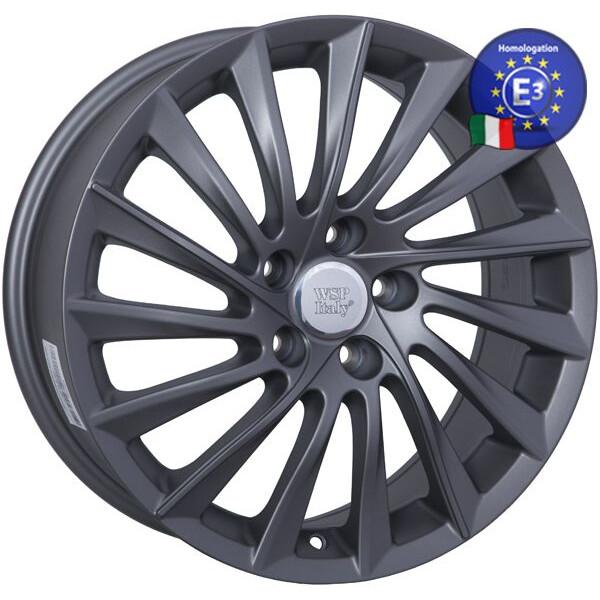 Купить Автомобильные диски, Литой диск WSP Italy ALFA ROMEO W256 GIULIETTA R17 W7, 5 PCD5X110 ET41 DIA65, 1 MATT GUN METAL