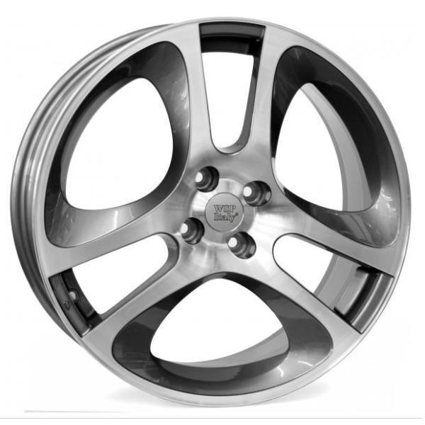 Купить Автомобильные диски, Литой диск WSP Italy ALFA ROMEO W255 MaRs MiTo R17 W7 PCD4X98 ET39 DIA58, 1 ANTHRACITE POLISHED