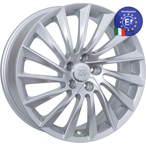 Купить Автомобильные диски, Литой диск WSP Italy ALFA ROMEO W256 GIULIETTA R17 W7, 5 PCD5X110 ET41 DIA65, 1 SILVER