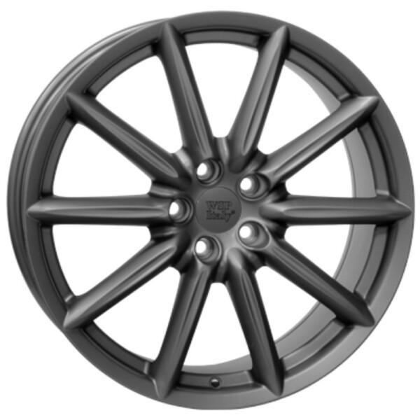 Купить Автомобильные диски, Литой диск WSP Italy ALFA ROMEO W251 CANNES R18 W8 PCD5X110 ET41 DIA65, 1 MATT GUN METAL