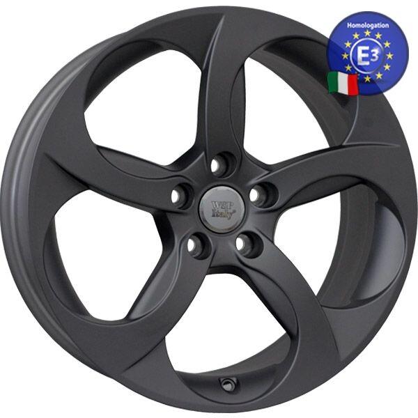Купить Автомобильные диски, Литой диск WSP Italy ALFA ROMEO W259 ULYSSE R18 W8 PCD5X110 ET33 DIA65, 1 MATT GUN METAL
