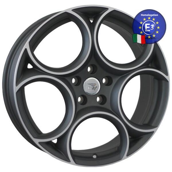 Купить Автомобильные диски, Литой диск WSP Italy ALFA ROMEO W260 GRECALE R19 W8 PCD5X110 ET34 DIA65, 1 MATT GUN METAL POLISHED