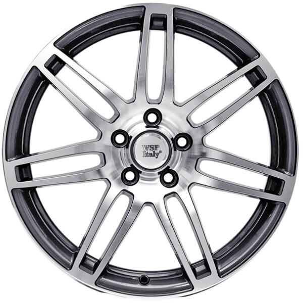 Купить Автомобильные диски, Литой диск WSP Italy AUDI W554 S8 COSMA R18 W8 PCD5X112 ET35 DIA57, 1 ANTHRACITE POLISHED