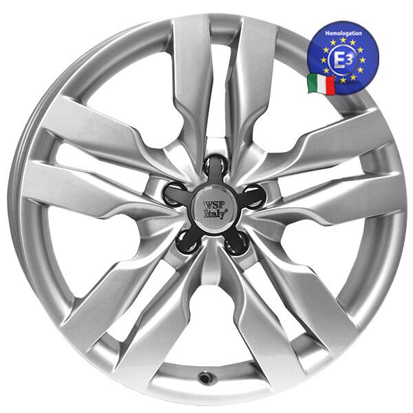 Автомобильные диски, Литой диск WSP Italy AUDI W552 S6 MICHELE R16 W7 PCD5X112 ET35 DIA57, 1 SILVER  - купить со скидкой
