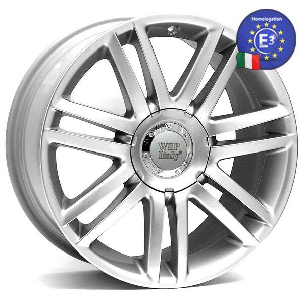 Купить Автомобильные диски, Литой диск WSP Italy AUDI W544 Pavia R19 W8 PCD5X100/112 ET35 DIA57, 1 SILVER
