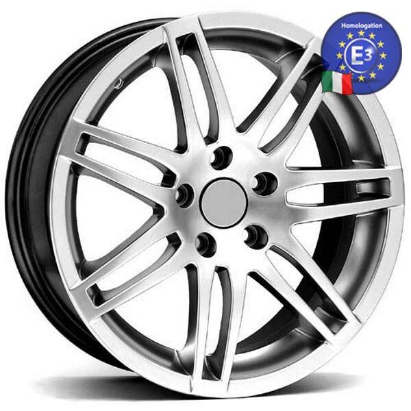 Купить Автомобильные диски, Литой диск WSP Italy AUDI W539 RS4 NAPLES AU39 R17 W7, 5 PCD5X112 ET35 DIA57, 1 HYPER SILVER