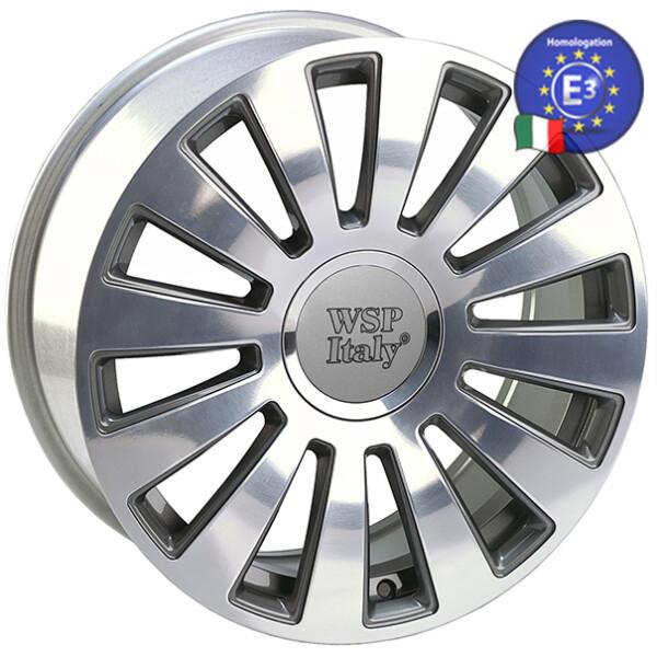 Купить Автомобильные диски, Литой диск WSP Italy AUDI W535 A8 RAMSES R20 W8 PCD5X100/112 ET35 DIA57, 1 ANTHRACITE POLISHED