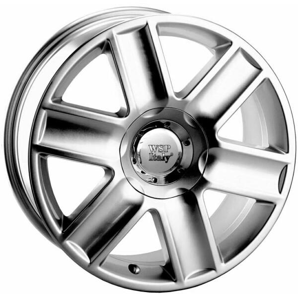 Купить Автомобильные диски, Литой диск WSP Italy AUDI W533 FLORE R15 W6, 5 PCD5X100/112 ET35 DIA57, 1 SILVER