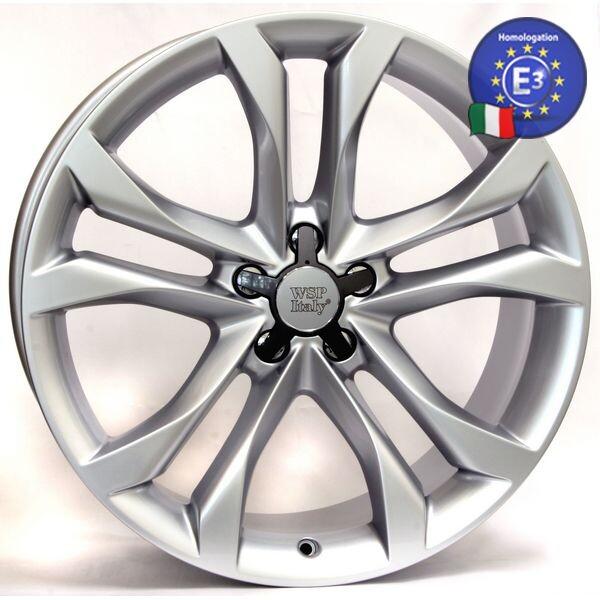 Купить Автомобильные диски, Литой диск WSP Italy AUDI W563 SEATTLE R19 W8, 5 PCD5X112 ET43 DIA57, 1 SILVER