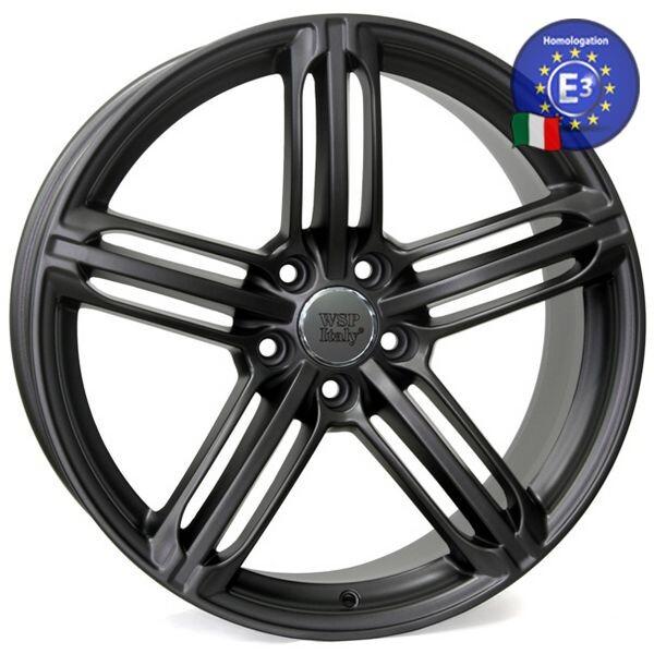Купить Автомобильные диски, Литой диск WSP Italy AUDI W560 POMPEI R17 W8 PCD5X112 ET40 DIA57, 1 MATT GUN METAL
