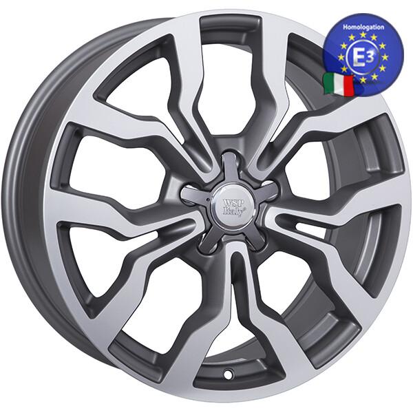 Купить Автомобильные диски, Литой диск WSP Italy AUDI W565 MEDEA R20 W9 PCD5X112 ET38 DIA57, 1 MATT GUN METAL POLISHED