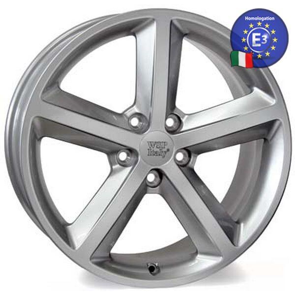 Купить Автомобильные диски, Литой диск WSP Italy AUDI W566 GEA R18 W8 PCD5X112 ET47 DIA66, 6 HYPER SILVER
