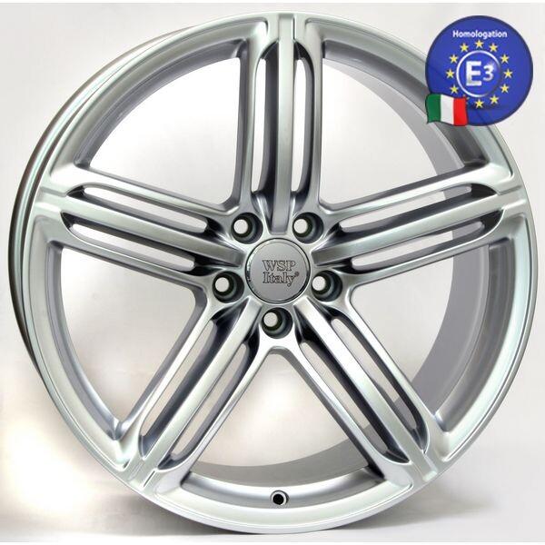 Купить Автомобильные диски, Литой диск WSP Italy AUDI W560 POMPEI R19 W8, 5 PCD5X112 ET36 DIA57, 1 SILVER
