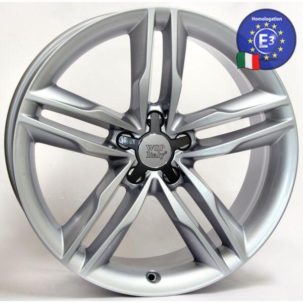 Купить Автомобильные диски, Литой диск WSP Italy AUDI W562 AMALFI R18 W8 PCD5X112 ET43 DIA57, 1 SILVER