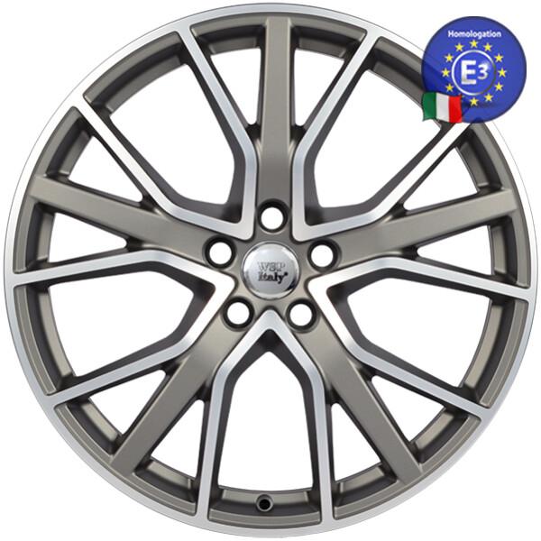 Купить Автомобильные диски, Литой диск WSP Italy AUDI W571 ALICUDI R20 W8, 5 PCD5X112 ET38 DIA57, 1 MATT GUN METAL POLISHED