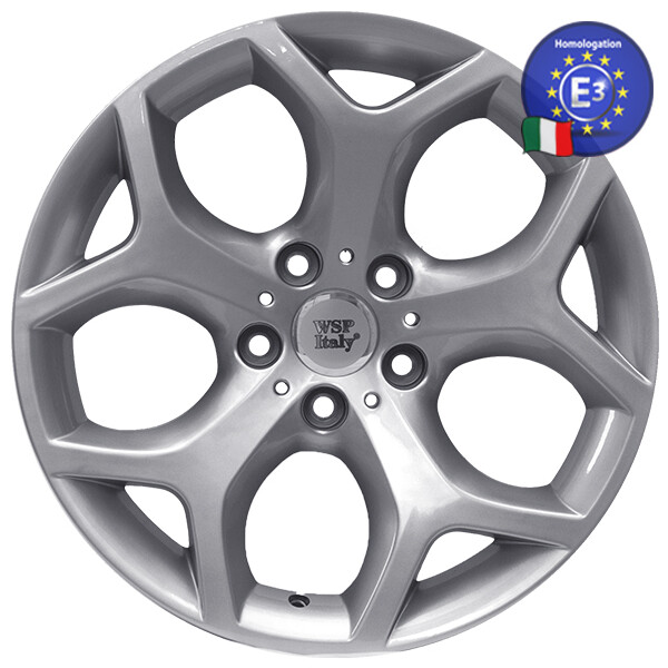 Купить Автомобильные диски, Литой диск WSP Italy BMW W667 X5 Hotbird R17 W7, 5 PCD5X120 ET35 DIA72, 6 SILVER