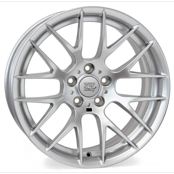 Купить Автомобильные диски, Литой диск WSP Italy BMW W675 BASEL R19 W8, 5 PCD5X120 ET29 DIA72, 6 SILVER