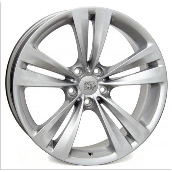 Купить Автомобильные диски, Литой диск WSP Italy BMW W673 NEPTUNE GT R19 W8, 5 PCD5X120 ET33 DIA72, 6 SILVER
