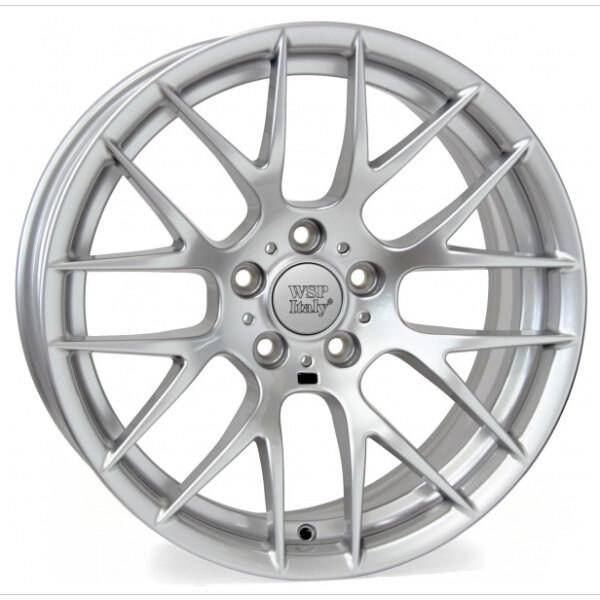 Купить Автомобильные диски, Литой диск WSP Italy BMW W675 BASEL R18 W8, 5 PCD5X120 ET52 DIA72, 6 SILVER