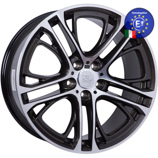 Купить Автомобильные диски, Литой диск WSP Italy BMW W677 X3 XENIA R19 W8, 5 PCD5X120 ET33 DIA72, 6 DIAMOND BLACK POLISHED
