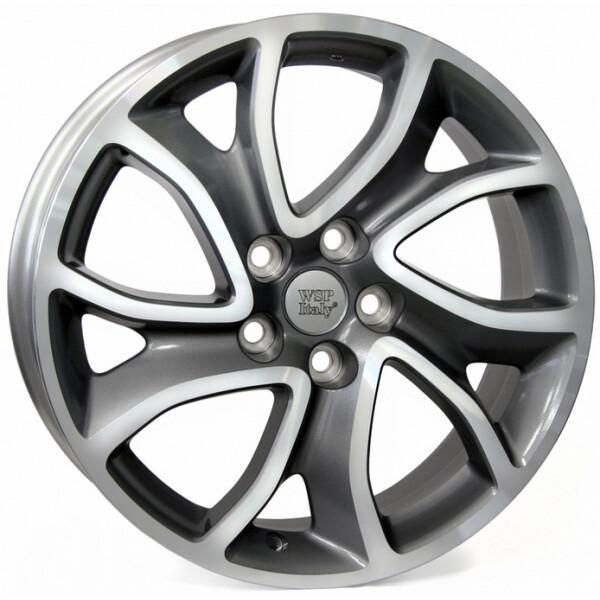 Купить Автомобильные диски, Литой диск WSP Italy CITROEN W3404 YONNE R18 W7 PCD5X114, 3 ET38 DIA67, 1 ANTHRACITE POLISHED
