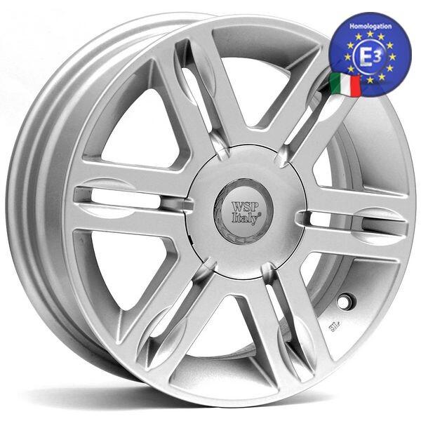 Купить Автомобильные диски, Литой диск WSP Italy FIAT W155 AMBURGO R14 W5 PCD4X98 ET38 DIA58, 1 SILVER