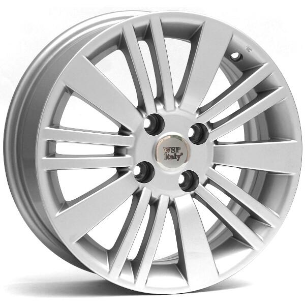 Купить Автомобильные диски, Литой диск WSP Italy FIAT W142 USTICA R15 W6 PCD4X98 ET33 DIA58, 1 SILVER