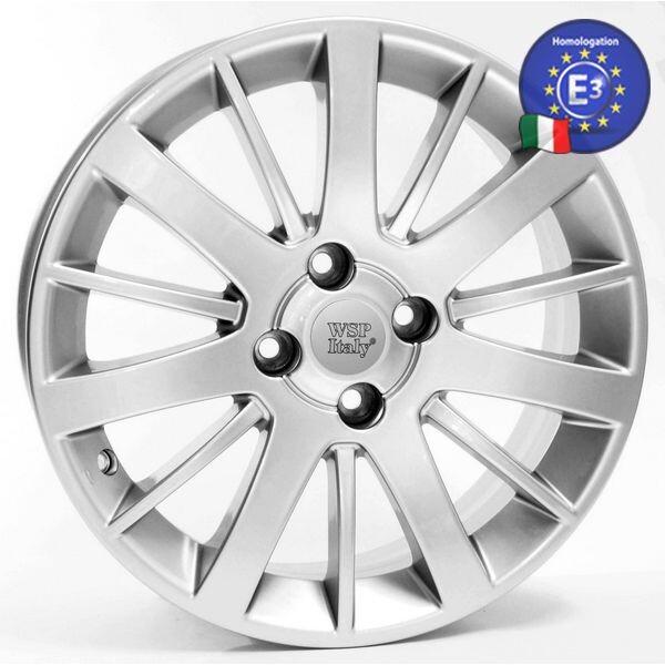 Автомобильные диски, Литой диск WSP Italy FIAT W153 CALABRIA R15 W6 PCD4X98 ET35 DIA58, 1 SILVER  - купить со скидкой