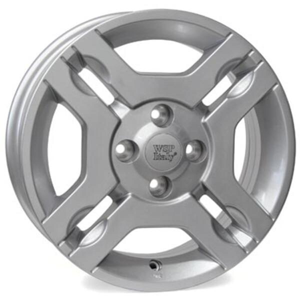 Купить Автомобильные диски, Литой диск WSP Italy FIAT W161 FIUGGI R14 W5, 5 PCD4X98 ET35 DIA58, 1 SILVER