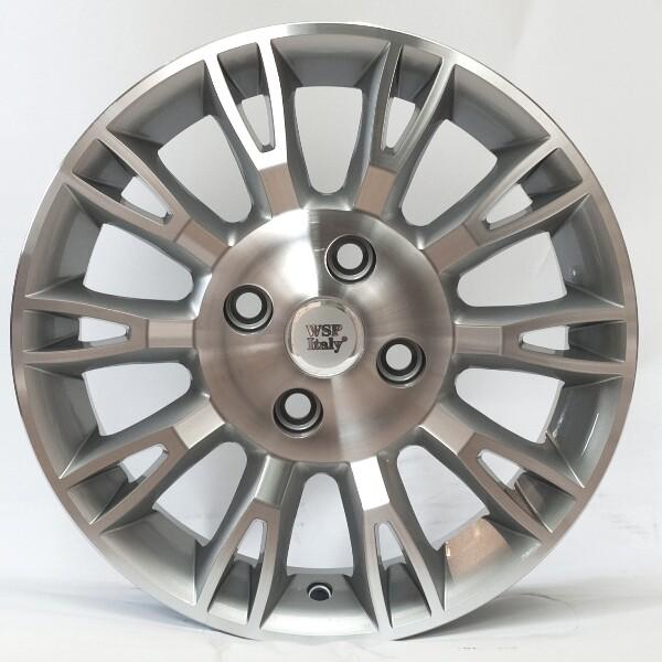 Купить Автомобильные диски, Литой диск WSP Italy FIAT W150 VALENCIA R15 W6 PCD4X98 ET35 DIA58, 1 SILVER POLISHED