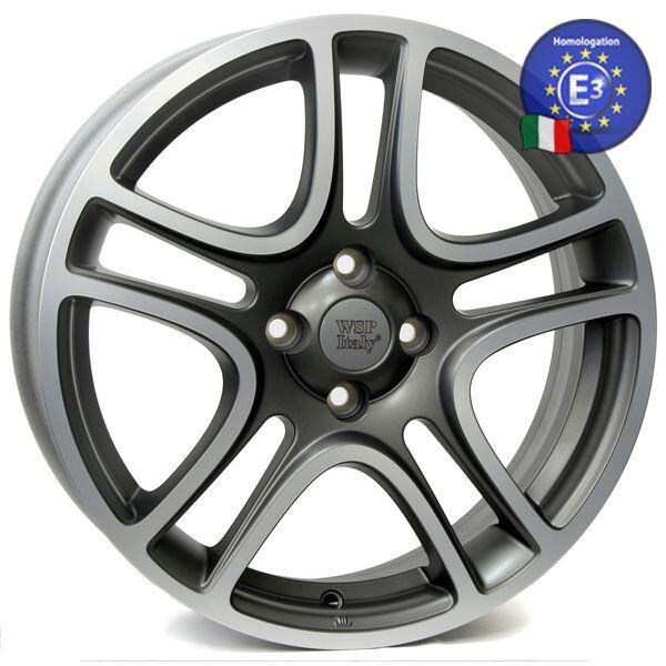 Купить Автомобильные диски, Литой диск WSP Italy FIAT W160 ERATO R16 W6 PCD4X98 ET45 DIA58, 1 MATT GREY POLISHED