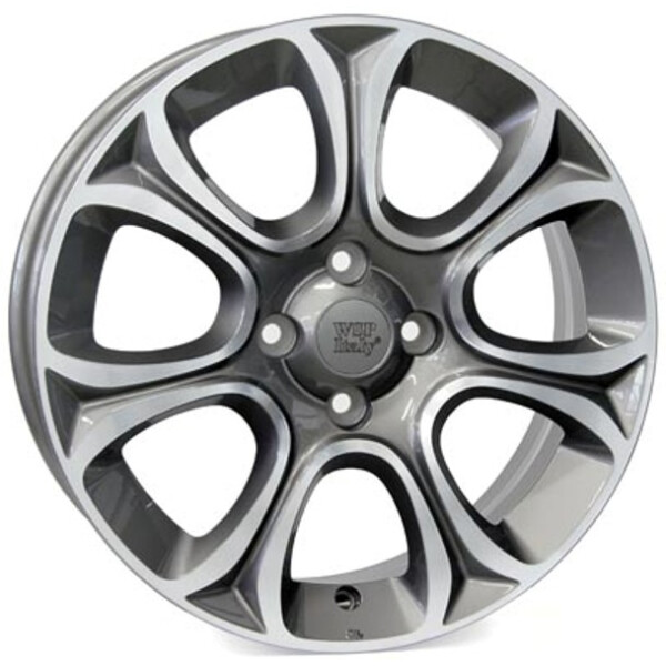 Купить Автомобильные диски, Литой диск WSP Italy FIAT W163 EVO R16 W6 PCD4X98 ET45 DIA58, 1 ANTHRACITE POLISHED