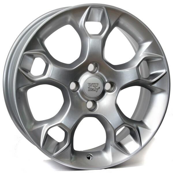 Купить Автомобильные диски, Литой диск WSP Italy FORD W951 NURNBERG R15 W6 PCD4X98 ET40 DIA58, 1 SILVER