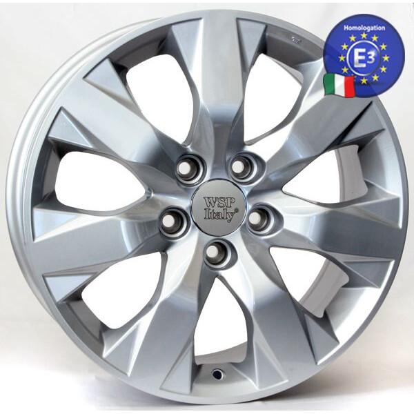Купить Автомобильные диски, Литой диск WSP Italy HONDA W2407 HAMADA / Accord R17 W7, 5 PCD5X114, 3 ET45 DIA64, 1 SILVER