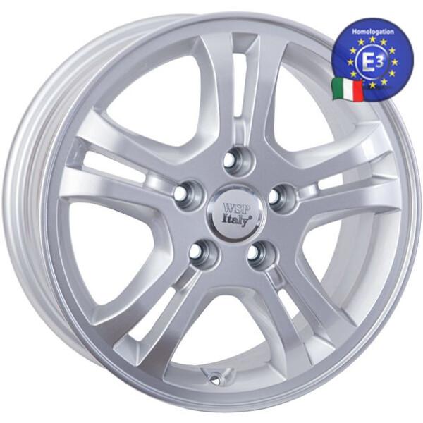 Купить Автомобильные диски, Литой диск WSP Italy HONDA W2403 SALERNO HO03 R16 W6, 5 PCD5X114, 3 ET45 DIA64, 1 SILVER