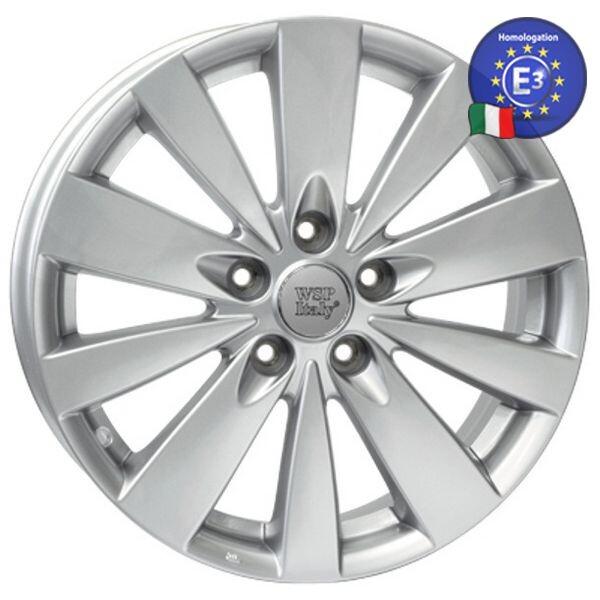 Купить Автомобильные диски, Литой диск WSP Italy HYUNDAI W3904 RAVENNA R17 W6, 5 PCD5X114, 3 ET46 DIA67, 1 SILVER