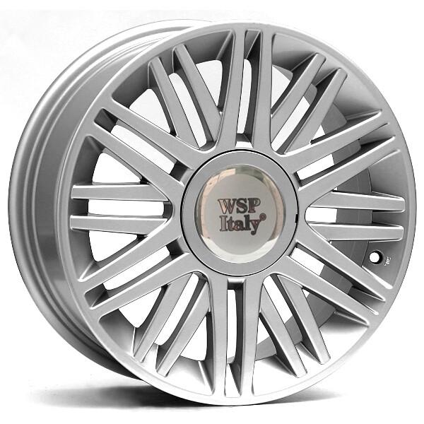 Купить Автомобильные диски, Литой диск WSP Italy LANCIA W315 CILENTO R16 W6, 5 PCD4X98 ET40 DIA58, 1 SILVER