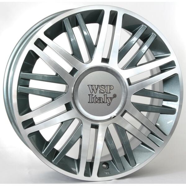 Купить Автомобильные диски, Литой диск WSP Italy LANCIA W315 CILENTO R16 W6, 5 PCD4X98 ET40 DIA58, 1 ANTHRACITE POLISHED